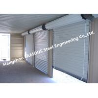 China Residential Overhead Roll Up Industrial Steel Garage Doors With Fire Resistant on sale
