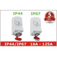 Buy cheap IP44 IP67 Industrial Power Socket Receptacles with Mechanical Interlock product