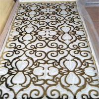 Buy cheap home decor decorative screen panel  stainless steel metal screen partition product