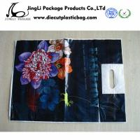 Buy cheap Custom Printed Plastic Bags with Handle for t shirts , promotional courier bags product
