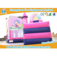 Buy cheap Inflatable Princess Castle Bounce House , inflatable jumping castle OEM and ODM  service from wholesalers