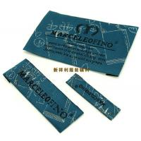 Buy cheap Customized Damask Woven Clothing Labels / Woven Garment Tags High Density product