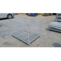 "Buy cheap Durable Heavy Duty Four Wheels Wire Mesh Container Storage Cage with Caster 4"" - from wholesalers"