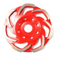 Buy cheap Diamond cup wheels for grinding stone and concrete px 1-1-5 product