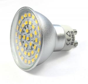 China sliver aluminum housing led spot down lights GU10 MR16 bulb led lamps 12V outdoor lighting wholesale
