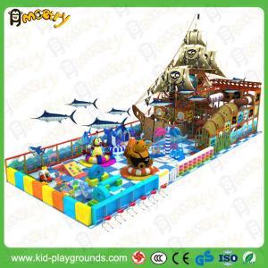 equipo interior de los niños del tema del barco pirata del precio de fábrica del parque de atracciones del patio barato de la diapositiva