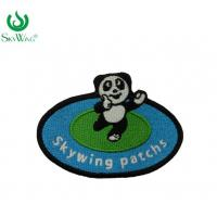 China Durable Kid Clothes Art Iron On Patches With Glow In The Dark Thread on sale