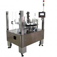 Buy cheap Vertical Rotary Semi Automatic Cartoning Machine For Blister Sachet Bottle Tube product