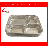 Quality Disposable Restaurant Use Take Away Aluminum Foil Plate With Lid for sale