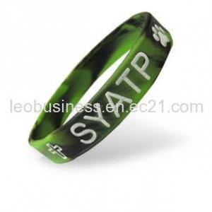 Buy cheap Bracelet sain multicolore en caoutchouc de silicone product