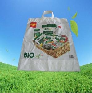 China Biodegradable Soft Loop Handle Bag on sale