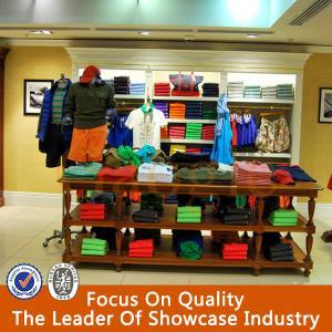 Buy cheap mobília/prateleiras de madeira da loja de roupa do projeto novo para a loja de roupa product