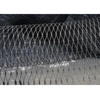 Buy cheap High Strength Black Oxide Wire Rope Mesh Waterproof For Balustrade Infill Security product