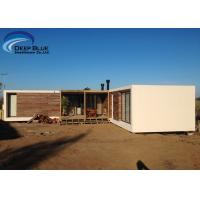 Buy cheap Steel Structure Modern prefabricated Houses , Uruguay Bungalow Home Plans product