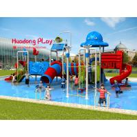 Buy cheap Fashionable Water Park Playground Equipment Stainless Screws Anti - Static For Kids product