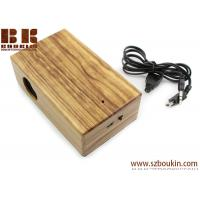 Buy cheap New Mini Induction portable Boombox For phone Wireless music speaker Wooden Speaker product
