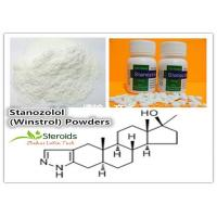 Buy cheap Stanozolol / Winstrol Cutting Cycle Steroids CAS 10418-03-8 Anabolic Hormone from wholesalers