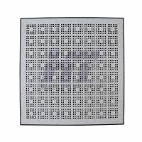 Buy cheap Stringer Antistatic Steel Raised Floor Ventilation Rate 22% Hollow Cavity product