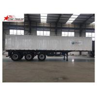 Buy cheap Hydraulic Wing Van Platform Semi Trailer Container Delivery With Tail Retractable product