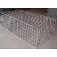 Buy cheap Construction Galvanized Gabion Baskets Retaining Wall 4.0mm-5.0mm Wire Gauge from wholesalers