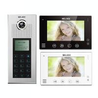Buy cheap 36 apartments intercom systems with video, codes&id card access name list from wholesalers