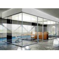 Buy cheap Modern Design Glass Conference Room Walls Full Height Frames Long Working Life product