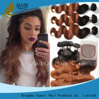 Buy cheap Vague profonde colorée par Remy blonde de prolongements de cheveux de Vierge durable aucun rejet product