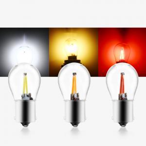 Buy cheap 1157 BAU15S COB 48SMD  480lm Car Tail Light Bulb product