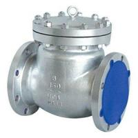 Buy cheap ,flange swing check valve ANSI B16.10, API 6D, JIS B2002 2) CF8M , WCB 3) Check from wholesalers
