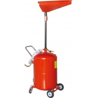 Buy cheap Air Operated 65 Gallon Portable Waste Oil Drain Tank product