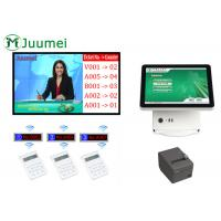 Buy cheap Dark Grey Wireless Service Calling System With IR Touch Screen product