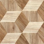 Buy cheap Matt Finished Porcelain Wood Effect Floor Tiles High Gloss  Waterproof product