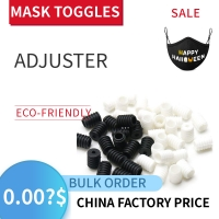 Buy cheap Blue Color Toggle Cord Locks For Production Face Masks product