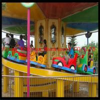 Buy cheap Kids liked carnival park roller coaster track train mini shuttle for sale product