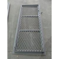 Buy cheap Double Opening Square Angle Marine Wire Mesh Door 8 mm Thickness product