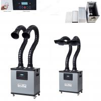 Buy cheap Remote Control Industry Soldering Fumes Extractor Machine Digital Display product