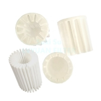 Buy cheap Factory Customized Pleated Flower Cup Shape Porous Plastic SPE PE Sintered Filter product