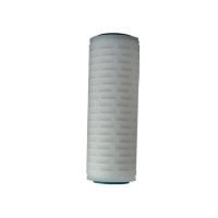 Buy cheap OEM Pleated Elements PP PTFE PES Micron Cartridge Water Filters product