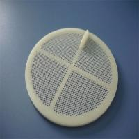 Buy cheap 5mm 100mm Flat Plastic Filter Custom Plastic Molding , Injection Molding Services product
