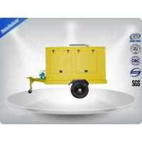 Buy cheap 12 Cylinder 75dB quietest Trailer Mounted Generator large in - line Config with Dry oil filter product