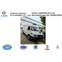 Buy cheap Hot sale IVECO  ice cream mobile food refrigerated van truck, IVECO 4*2 LHD diesel refrigerator minibus for sale product