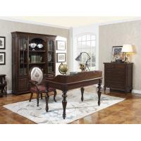 Buy cheap Home Office Study room furniture Wooden Reading Writing desk Computer table with Storage cabinet and Bookshelf cabinet product