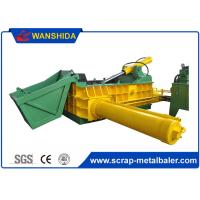Buy cheap Push Out Method Metal Scrap Baling Machine With 125 Ton Press Force product