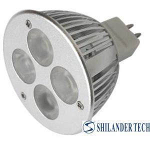Buy cheap 専門4With 360 lm/6500Kの45/60程度GU10 LEDの点は展覧会場のためにつきます product