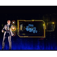 Buy cheap Stage Show 95um Transparent Holographic 3D Screen product
