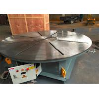 Buy cheap HBT Horizontal Automatic Pipe Welding Machine Rotation Welding Table Customized Color product