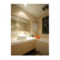 Coated decorative tempered glass panel for bathroom shower for Decorative tempered glass panels