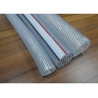Buy cheap PVC Braided Hose / Food Grade Transparent Fiber Reinforced Braided Net Pipe Tubing product