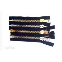 Quality 8 # Metal Teeth Open End Zippers , Switzerland Special Pull Head Split for sale