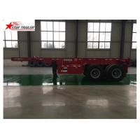 Buy cheap High Strength 40 Foot Trailer , Strong Trailer Frame Container Skeletal Trailers from wholesalers